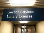 election services sign
