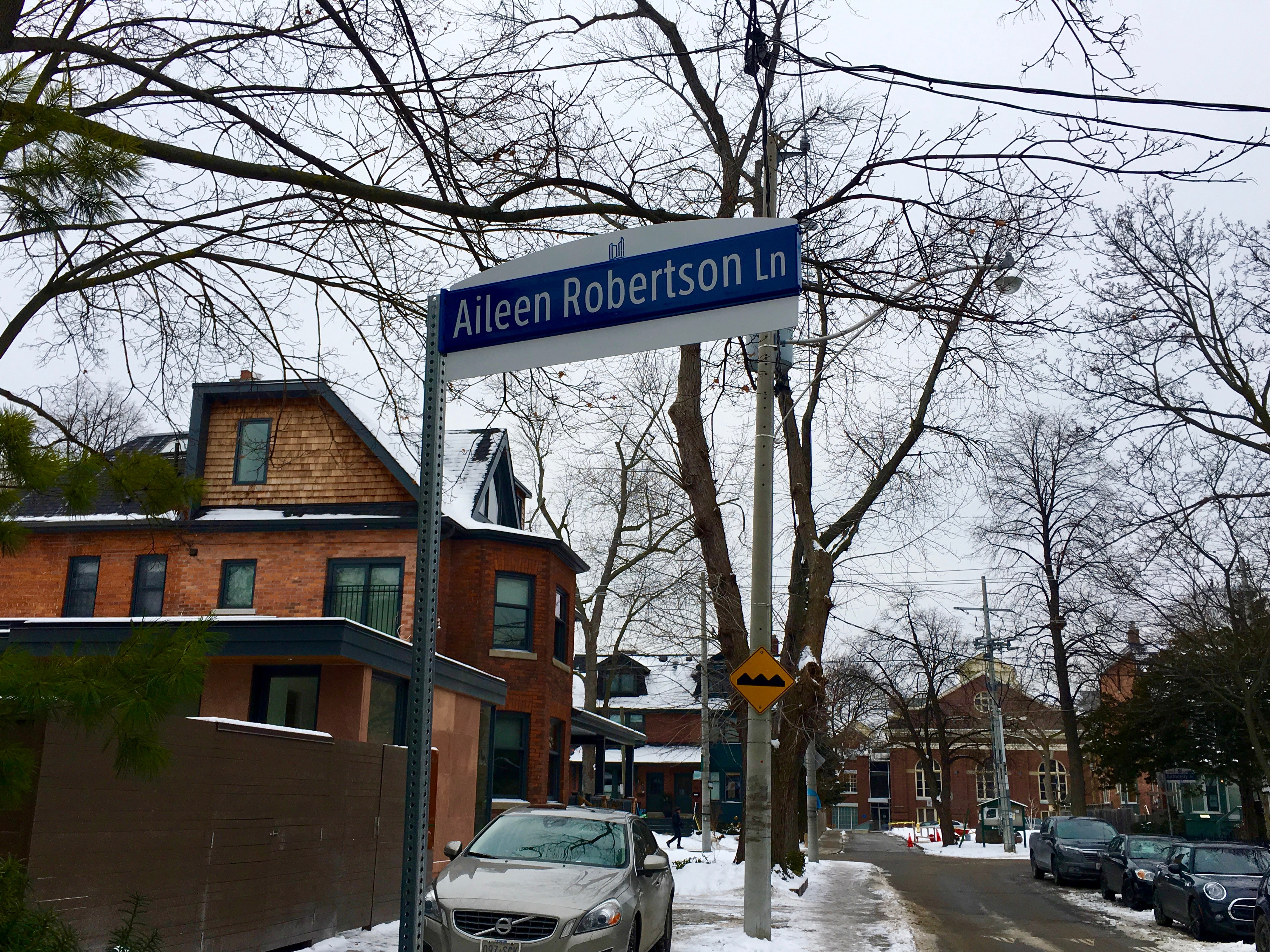 10:37 a.m., Jan. 18, 2018. As women around the world took to the streets on the third Saturday in January for the global women's march, Signal Toronto looked at the spaces that connect the streets – the city's laneways – and specifically the names of those streets.