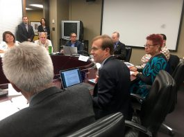 10:26 a.m. Nov. 3, 2017. City Manager Peter Wallace at the Aboriginal Affairs Committee at Toronto City Hall in November.