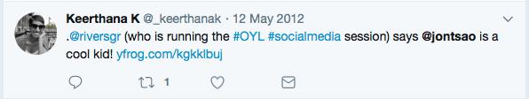 2012 tweet
