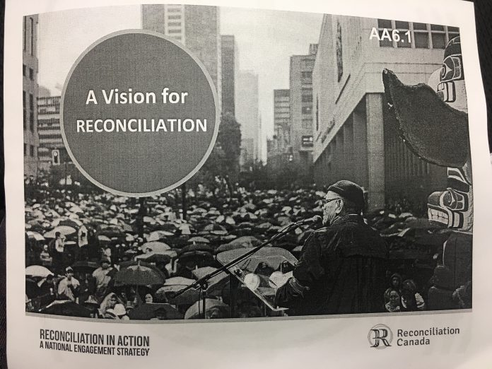 A vision for reconciliation package