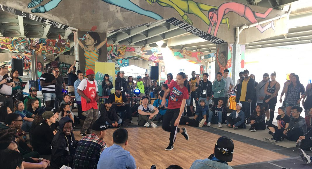 Underpass Park House Jam & Battle 8