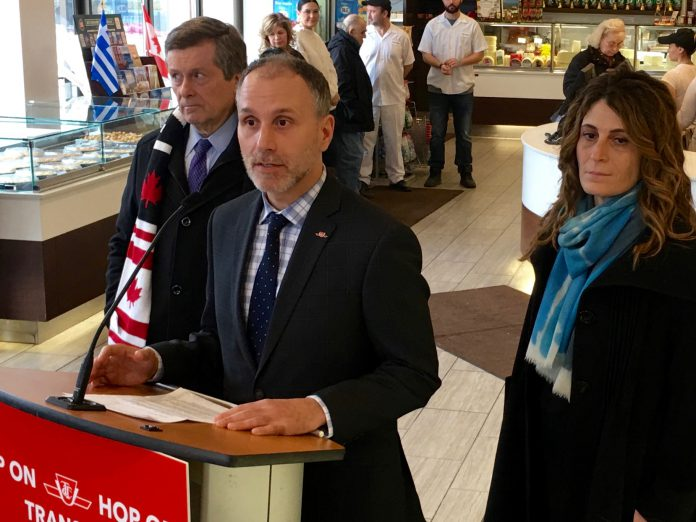 Josh Colle announces he will not seek re-election.