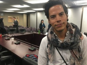 12:18 p.m., Feb. 15, 2018. Donald Corbiere, representing Nishnawbe Homes, at the Aboriginal Affairs Committee this week.
