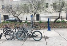 """1:13 p.m. May 4, 2018. A report to the Parks and Environment Committee on the cost of bicycle tune-up stations in parks says """"the typical price range for a reasonably durable unit is from $1,000 - $2,5000 plus installation costs."""" Signal Toronto contacted the author of the report to inquire for a price breakdown, but was passed on to another staff who could not provide an answer."""